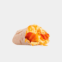 Carl's Jr. Bacon & Egg Burrito