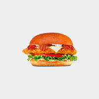 Carl's Jr. The Bacon Swiss Crispy Chicken Fillet Sandwich
