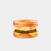 Carl's Jr. Grilled Cheese Breakfast Sandwich