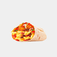 Carl's Jr. Loaded Breakfast Burrito