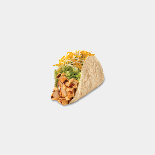 Carl's Jr. Southwest Chicken Soft Taco