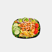 Carl's Jr. The Charbroiled Chicken Salad