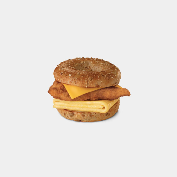 Chick-fil-A Chicken, Egg & Cheese Bagel