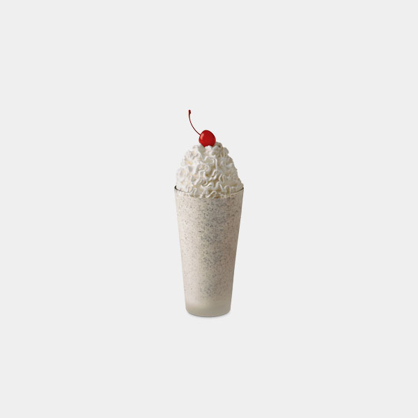 Chick-fil-A Cookies & Cream Milkshake