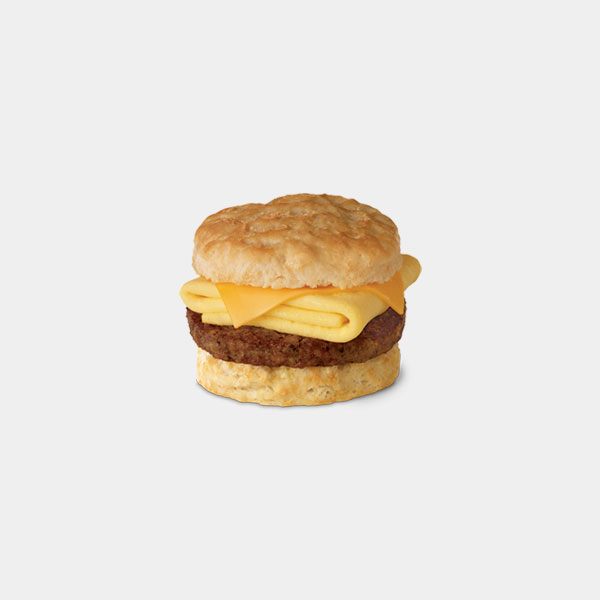 Chick-fil-A Sausage, Egg, and Cheese Biscuit