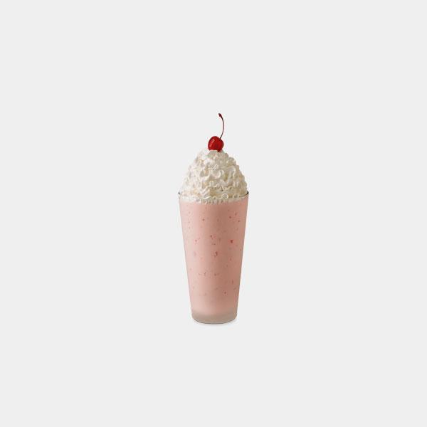 Chick-fil-A Strawberry Milkshake