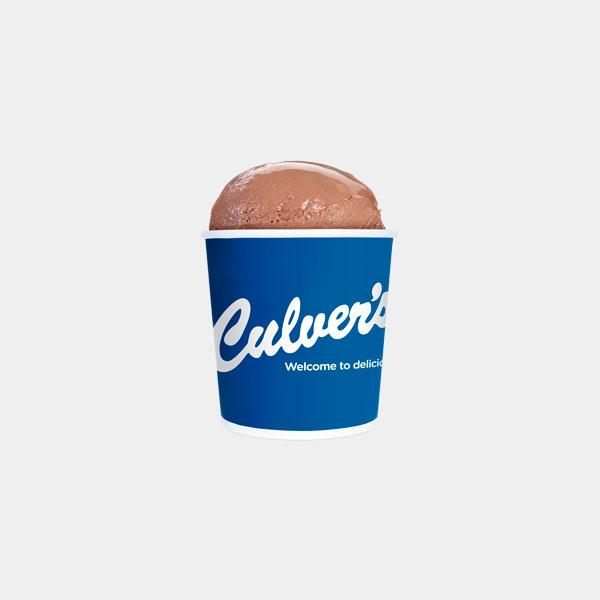 Culver's Chocolate Frozen Custard - Pints & Quarts