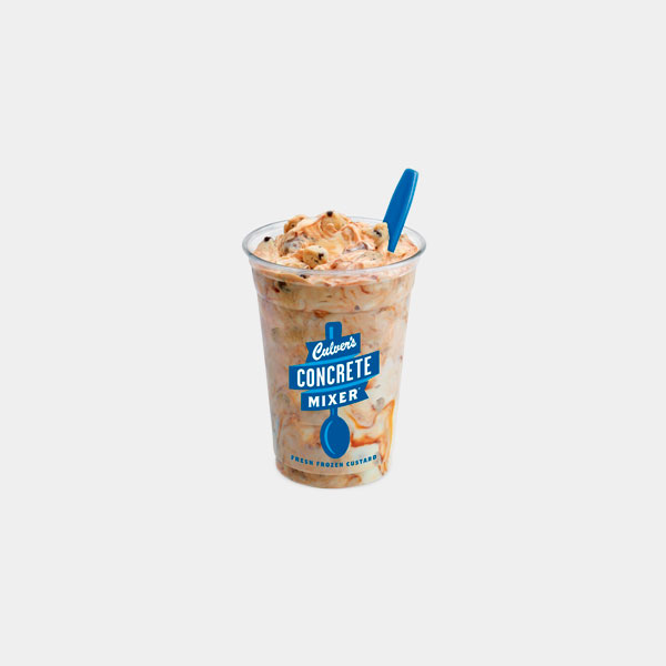 Culver's Crazy for Cookie Dough Concrete Mixer
