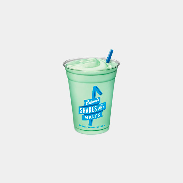 Culver's Mint Shake