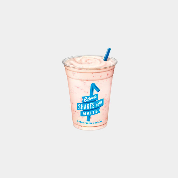 Culver's Raspberry Shake