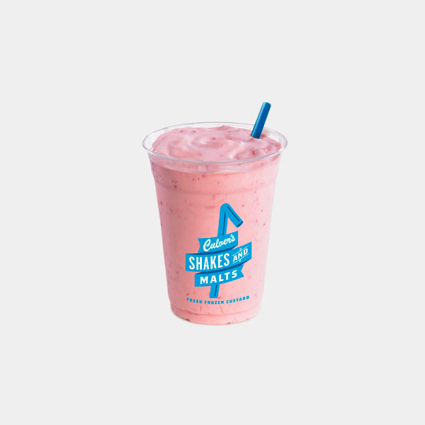 Culver's Strawberry Shake
