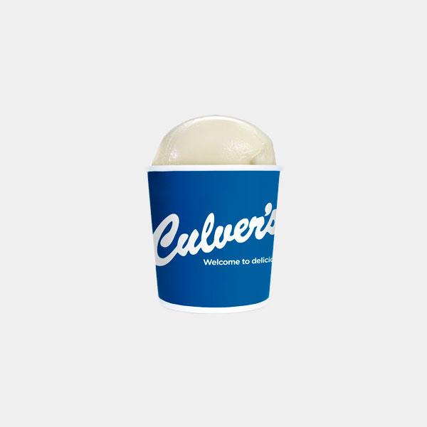 Culver's Vanilla Frozen Custard - Pints & Quarts