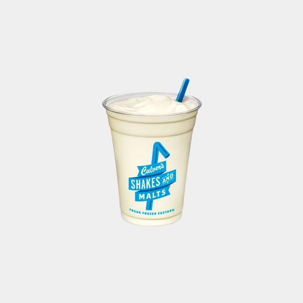 Culver's Vanilla Shake