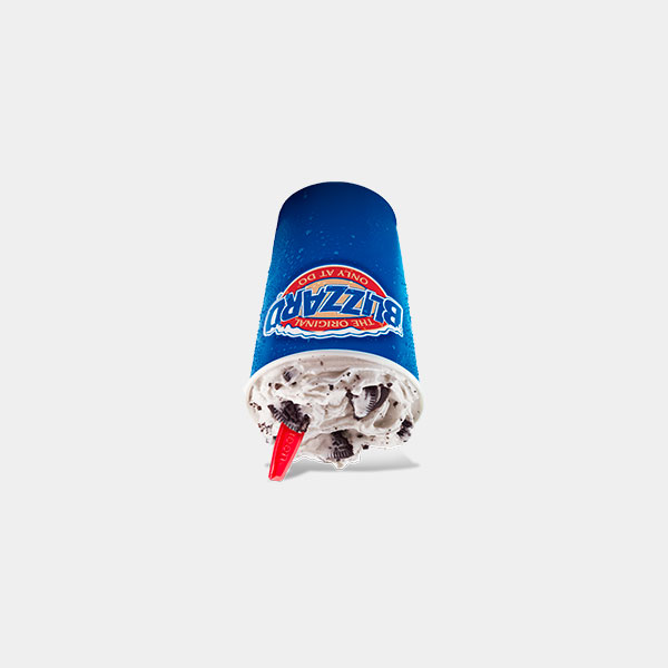 Dairy Queen Oreo Cookies Blizzard