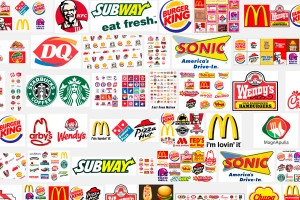 many logo fast food